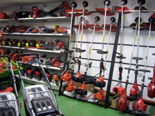 Mowers Strimmers Chainsaws Showroom